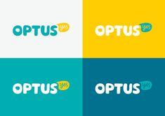 Optus Logo, Identity, and Advertising