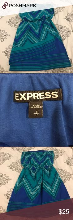 Express strapless dress Express strapless dress Express Dresses Mini