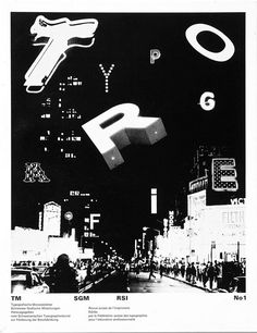 Dan Friedman, cover magazine Typografische #swiss #punk