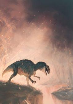 Allosaurus by Natasha Alterici
