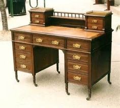 We sell exclusive antique and vintage furniture.