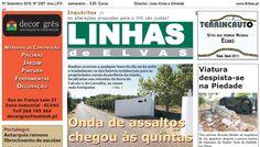 """Campomaiornews: Semanário """"Linhas de Elvas"""" completa hoje 66 anos ..."""