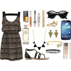 """Shapes In Fashion"" by livelife2risks on Polyvore"