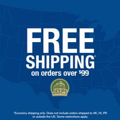 That's right, get FREE economy shipping on orders over $99!  No coupon code required, all you need to do is start shopping!  Shop now: JustForJeeps.com