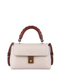 chloe best price - Everston Medium Double Satchel Bag, Blush Nude by Chloe at ...