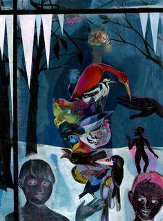 """Saatchi Art Artist olaf hajek; Painting, """"outside my window"""" #art"""