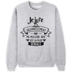 Ma meilleure amie ! // Bienvenue sur Keewi.io - Créez et vendez vos T-Shirts Gratuitement afin de répondre à tous les goûts de vos clients.