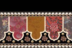 Textile Prints, Textile Design, Art Prints, Border Pattern, Pattern Art, Boarder Designs, Baroque Decor, Hd Phone Wallpapers, Design Seeds