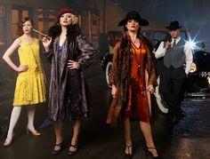underbelly razor 20s Fashion, Art Deco Fashion, Vintage Fashion, Roaring Twenties, The Twenties, 1920s Party, Dark City, Country Girls, Vintage Inspired