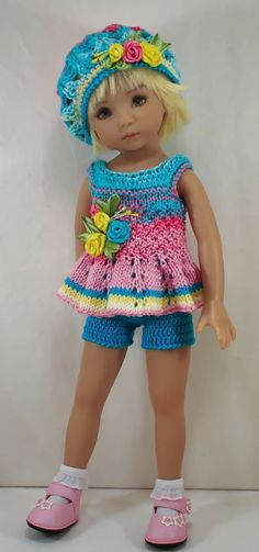 "Ооак наряд для куклы 13"" Дианна Effner Little Darling #"