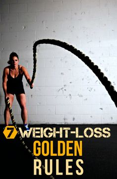 HASS FITNESS: 7 WEIGHT-LOSS GOLDEN RULES