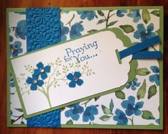 Praying for you by CAR372 - Cards and Paper Crafts at Splitcoaststampers