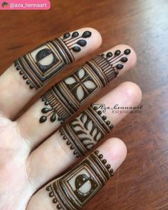 Yay or Nay? Henna on fingers 😍by Latest Finger Mehndi Designs, Basic Mehndi Designs, Henna Art Designs, Mehndi Designs For Beginners, Wedding Mehndi Designs, Mehndi Designs For Fingers, Latest Mehndi Designs, Fingers Design, Mehndi Designs For Hands
