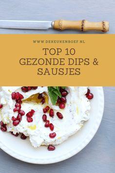 Top 10 gezonde dips en sausjes - lekker! ⋆ De keukenboef