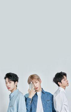 Wanna One x STAR1 Magazine Lai Guan Lin, Kang Daniel, and Ong Seongwoo Wallpaper