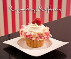 Casey's Cupcakes Razzmatazz Raspberry. #caseyscupcakes www.caseyscupcake.com