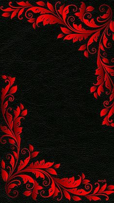 Black Wallpaper Floral Floral Design Art Decoration Background Safflower decorative black leather background More than 3 million PNG and graphics resource at Pngtree. Find the best inspiration you need for your project. Red And Black Wallpaper, Black Phone Wallpaper, Cellphone Wallpaper, Flower Wallpaper, Galaxy Wallpaper, Nature Wallpaper, Red And Black Background, Textured Wallpaper, Art Background