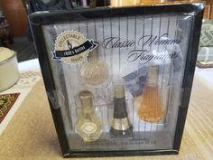 dana CLASSIC WOMAN'S FRAGRANCES 1930'S SERIES -BOXED #1930collection Parfum Spray, Fragrances, Perfume Sets, 1930s, Bottle, Classic, Ebay, Women, Derby