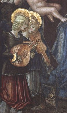 Perugia, Umbria, musical angels by groenling, via Flickr