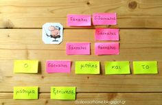 Dyslexia at home Greek Language, Dyslexia, Special Needs, How To Stay Motivated, Special Education, Learning Activities, Teacher, Writing, Motivation