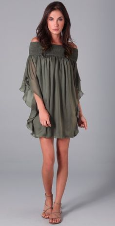 Off the shoulder dress ... I would wear as a shirt with skinny jeans and boots