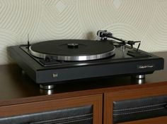 Vintage audio Dual turntable vinyl record player