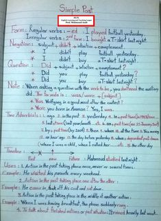 What are the basics of English grammar? English Grammar Notes, Teaching English Grammar, English Grammar Worksheets, English Verbs, Grammar And Vocabulary, English Vocabulary Words, Learn English Words, English Language Learning, Grammar Lessons