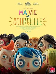 Ma vie de Courgette / directed by Claude Barras ; written by Claude Barras [e. All Movies, Movies To Watch, Movies And Tv Shows, 2020 Movies, Movies Online, Walt Disney Pictures, Flynn Rider, Film D'animation, Film Movie