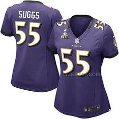 http://www.yjersey.com/new-nike-ravens-55-suggs-purple-women-2013-super-bowl-xlvii-jersey.html NEW #NIKE RAVENS 55 SUGGS PURPLE WOMEN 2013 SUPER BOWL XLVII JERSEYOnly$36.00  Free Shipping!