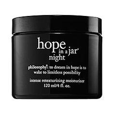 philosophy - Hope In A Jar Night  #sephora