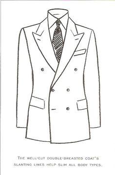Fashion Sketch Templates Male Suite