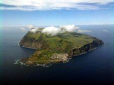 ilha do corvo, Açores, Portugal