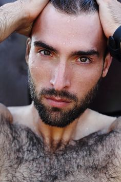 Photo about Fashion Portrait of handsome masculine guy with drop of water on а face with Brown dark eyes Beard and mustache. Image of caucasian, damage, manly - 48915829 Casual Relationship, What Women Want, Beard No Mustache, Dark Eyes, Work Quotes, Fashion Face, Hairy Men, Personal Development, Mercury