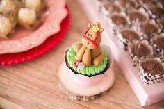 Cupcake from a Girly Little Farm Birthday Party via Kara's Party Ideas | KarasPartyIdeas.com (4)