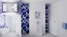 bathroom, interieur, badkamer, inspiration, inspiratie, style, stijl, shower, douche, modern