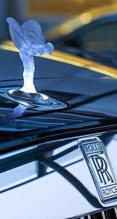 Calandre d'un Rolls-Royce