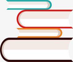 book books book Cartoon Vector กรอบ การออกแบบปก พื้นหลัง
