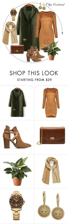 """13.01.2017"" by olgacontrast on Polyvore featuring мода, H London, Mulberry, MICHAEL Michael Kors, Victorinox Swiss Army и Effy Jewelry"
