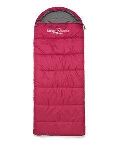 Loving this Pink Muir 50'' Kid's Sleeping Bag on #zulily! #zulilyfinds