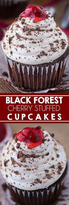Black Forest Cupcakes Recipe - CUCINA DE YUNG