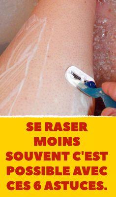 Se raser moins souvent c'est possible avec ces 6 astuces.