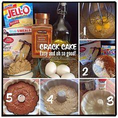 Crack Cake | APeekIn