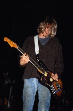 Kurt Cobain Halloween, 1991.