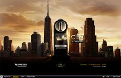 Nespresso website // #design #webdesign