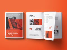 DotConnect.vc booklet by Antek Skąpski #Design Popular #Dribbble #shots
