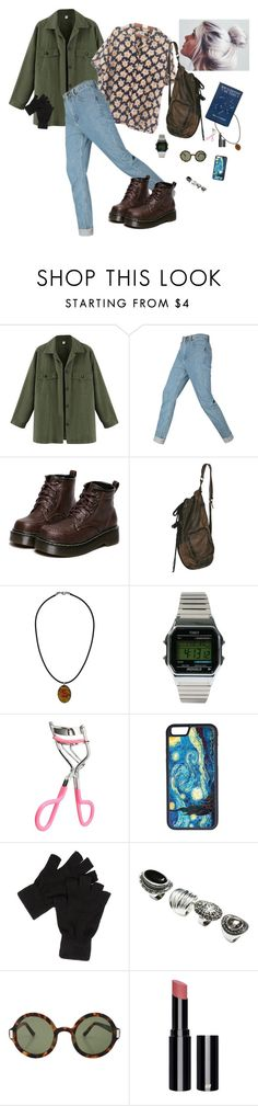 """""""What I'd wear"""" by prusius on Polyvore featuring WithChic, Topshop, Timex, CellPowerCases, H&M, The Row, women's clothing, women, female and woman"""