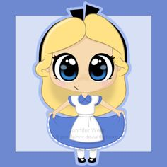 Chibi Alice by *Jennifairyw on deviantART