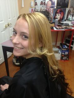 Love, Love, Love to create blondes without bleaching!