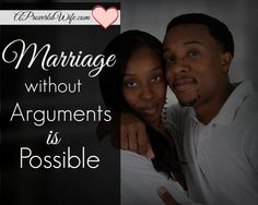 #Marriage Without Arguments is Possible