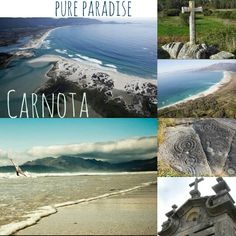 Best Wind Spots Galicia & North Portugal. Spot 6: Carnota. Near Muros Bay. Bigest Galician beach with more than 7 kms. Good spot for surf, wind & kite. Natural paradise.  #surf #nature #sea #free #galicia #waves #windsurf #caminodesantiago #petroglifs #beach #spain #paradise #GALIFORNIA #ocean #atlantic #carnota #finisterre #vacations #summer #glisse